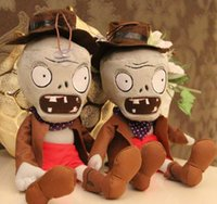 baby doll hats - New Plants vs Zombies Soft Plush Toy Doll Hat a zombie Baby Toy for Children Gifts Party toys cm