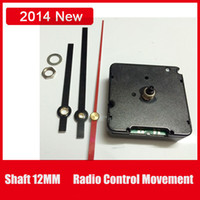 Wholesale Shaft MM DCF Radio Control Movement Automatic Machine For Europe Country Wall Clock Free Metal Hands To Assemble Scews