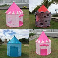 Cheap Fashion Portable Children Folding Play Tent Princess Castle Outdoor Cubby House Cute #77339