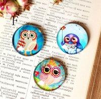 Wholesale Cut Owl Fridge Magnets Crystal Texture Fridge Decor Magnetic Sticker Children s Toys Spring Hot Sale