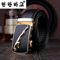 mens leather belts - Mens designer strap belts man genuine leather belts cowskin automatic buckle belts for men cowleather belt