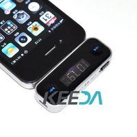Wholesale Wireless Car FM Radio Transmitter mm Audio for iPhone S S C iPod MP3 Galaxy S2 S3 HTC TK1383