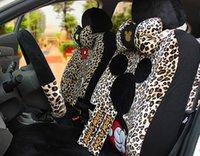 the four seasons - High grade The new Cartoon Mickey Mouse car seat cover four seasons general plush cartoon car seat cover
