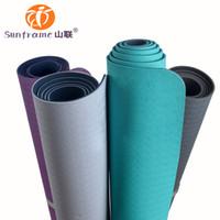 yoga mat - FedEx Yoga Mat with Eco TPE material anti slip yoga mat size x65cm mm factory