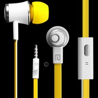 Wholesale Langston JM21 Super Bass In ear Earphone mm Jack Stereo Headphone m Cable with Mic for iPhone Plus fone de ouvido