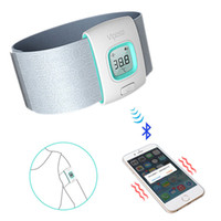 baby temperture - Babies Health Manage Bluetooth Smart Medical Thermometer Wristband h Monitor Temperture Alarm for iOS Android Smartphone