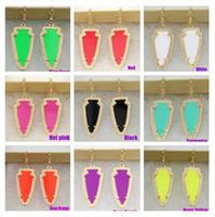 amber chandelier earrings - Kendra scott Earrings Fashion Triangle Earrings Hot Selling Kendra Scott Earrings