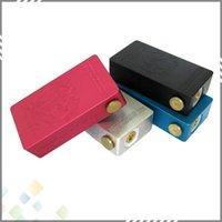 switch - 2015 CHERRY BOMBER Mechanical Mod Cherry Bomber Clone Mod Connector fit Battery for RDA Atomizer Magnetic switch DHL Free