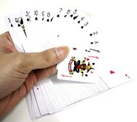 Wholesale MINI playing cards cooper paper high quality funny small size poker set