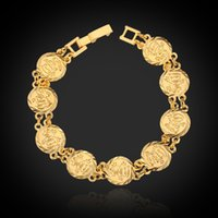 Party allah jewellery - High Quality Muslim Allah Bracelets K Real Gold Plated Anti Fade Bangles For Women Or Men Jewelry Jewellery To dear customers T