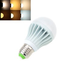 adjustable temperature switch - Adjustable E27 LED Bulb Power Switch Control Color Temperature Brightness W V AC LED Light Lamp Indoor Lighting L0569