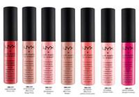 Wholesale 2015 New Arrival NYX soft matte lip cream Lip gloss Lipstick vintage long lasting g Professional Makeup