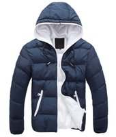 Cheap 2015 New Fashion winter men hooded coat thick padded jacket warm jacket Down & Parkas Hooded Plus Size CE11-32