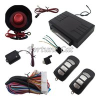 alarm stage - Universal One Way Car Alarm System L Two Stage Siren Verification And Auto Central Door Lock Suitable For All Kinds Of Cars