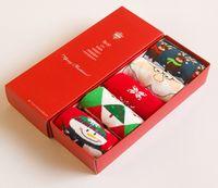 Wholesale Hot Sale Pairs Women Boy And Girl Funny Socks Christmas Cotton Socks Warmer Socks For Christmas Gift