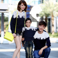 Wholesale Fashion Lovers Family Sweaters Clothes for Father and Son Clothes for Mother and Daughter Girls Boys Women Men Sweaters WL581