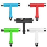adjust wrench - Skateboard Scooter Longboard T shape Multifunctional Wrench Adjusting Tool Hot Selling