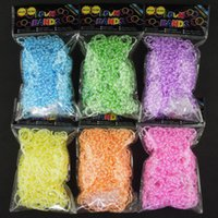 Wholesale New Loom Bands Looms Rubber Bands Loom Bracelets bands clips Fast Delivery by FedEx IP