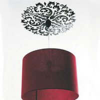 Wholesale Bedroom pendant light ceiling decoration stickers the third generation wall stickers