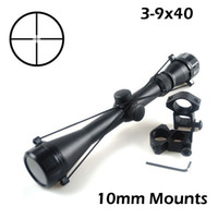 sniper scope - New Outdoor Sighting telescope tactical optics Hunting sniper Scope Aiming Telescope Riflescope mm Rail Mounts