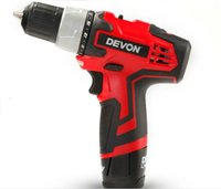 Wholesale DEVON lithium V rechargeable Cordless Drill Electric screwdriver NM