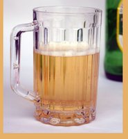 acrylic plastic cups - Large glass fashion cable ties beer acrylic plastic cup transparent cup