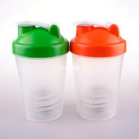 Plastic blender bottle - New Smart Shake Gym Protein Shaker Mixer Cup Blender Bottle Within Whisk Ball