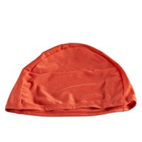 Wholesale MESUCA Water Sport Solid Color Lycar Swimming Cap SC779 Waterproof Protect for Men and Women Hair Care