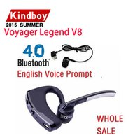 Cheap In ear Bluetooth Headset Voyager Legend V8 bluetooth 4.0 earphone headphone For iphone samsung LG HTC factory sale