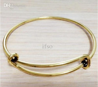 Wholesale Fashion Bracelets Bangle cm Small Size Alex and Ani Bangles For Kids Expandable Wire Cuff Bangles AAB083