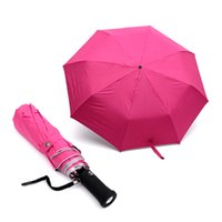 beach umbrellas for sale - New High Quality automatic UV sun sunscreen Three Folding women men beach umbrella female sunshade beach rain umbrellas For Sale