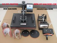 Wholesale 110 V Plate Mug Cap TShirt heat press FL Sublimation machine heat transfer machine mini digital In1 Combo Heat Press Machine