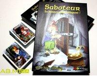 Wholesale Kids Adult Popular Card Games Saboteur Family Game Leisure Party Board Games jeu de base extension