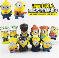 big lots tables - Children Toys Despicable Me Character Lighting Sound Effect Kids Stuffed Toys Minions Decoration For Table Height cm T1306