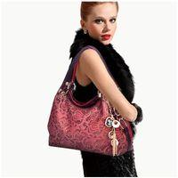 Wholesale Synthetic Leather Restore Ancient Women Inclined Big Handbag Shoulder Bag