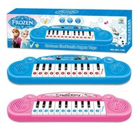 Wholesale 2014 Hot sales Musical instruments toy for kids Frozen girl Cartoon electronic organ toy keyboard electronic baby piano with music song