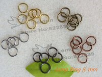 lead free nickel free - Jewelry Findings Accessories mm Jump ring pc gold copper silver black gun antique gold Free nickel Free lead