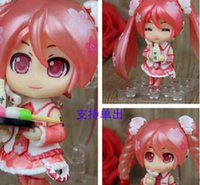 Wholesale Anime Figure Hatsune Miku figure Sakura Pink Bloomed PVC Action Figure Toys Hatsune Miku Doll Brinquedos T3437