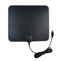 antenna gain - 35 Miles UltraThin Indoor Amplified Indoor HDTV Antenna UHF MHz Design High Gain hot sale A