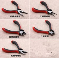 Wholesale Deal Jewellery Mini Pliers Tools Kit Cutter Chain Round Bent Nose Beading Making Repair Jewelery Supllies