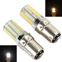 Wholesale BA15D W LEDs SMD Corn Bulb White Warm White Light Dimmable Silicone Lamp LED_599