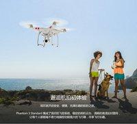 En gros DJI Phantom 3 Professional 4K En Stock Vidéo 12,0 Mégapixels Camera Drones RC Helicopter puissant Mobile App