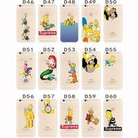 minions case - Iphone S plus Cartoon minion Simpson Frozen cases Snow White Spiderman Mermaid Case soft TPU cover for Samsung S5 S6