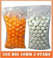 Wholesale X Big mm Stars Best Table Tennis Balls Ping Pong Balls Ping Pong Big Balls
