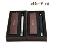 Cheap 1300mAh ego vv3 e cigarette Best Adjustable ego v v3 battery ego vv3