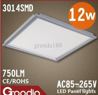 Wholesale 12W LED Panel lights MMX300MM LED Integrated Ceiling LIGHTS Kitchen Lighting