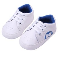 baby soccer ball - Newly Design Baby Boys Girls Leisure Sneakers Soccer Ball Pattern Soft Sole Anti Slip PU Shoes Oct21