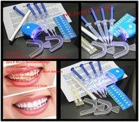Cheap 100Packs lot 0.1%-44% Carbamide Peroxide (4 Syringe) Home Use Tooth Whitener Bleaching Teeth Tooth Whitening Whitener Kit MY365