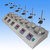 Wholesale 6 Heads Multi unit units Digital Thermostatic Magnetic Stirrer Hotplate mixer V or V