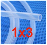 Wholesale 1x3 mm Thin Silicone Pipe Silicone Hose Garden Hose Reels